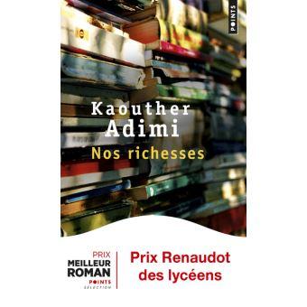 Roman Nos Richesses de Kaouther Adimi