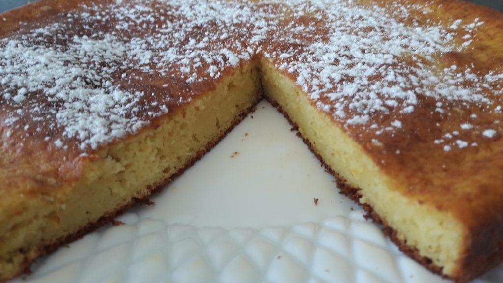 Gâteau à la ricotta et au citron